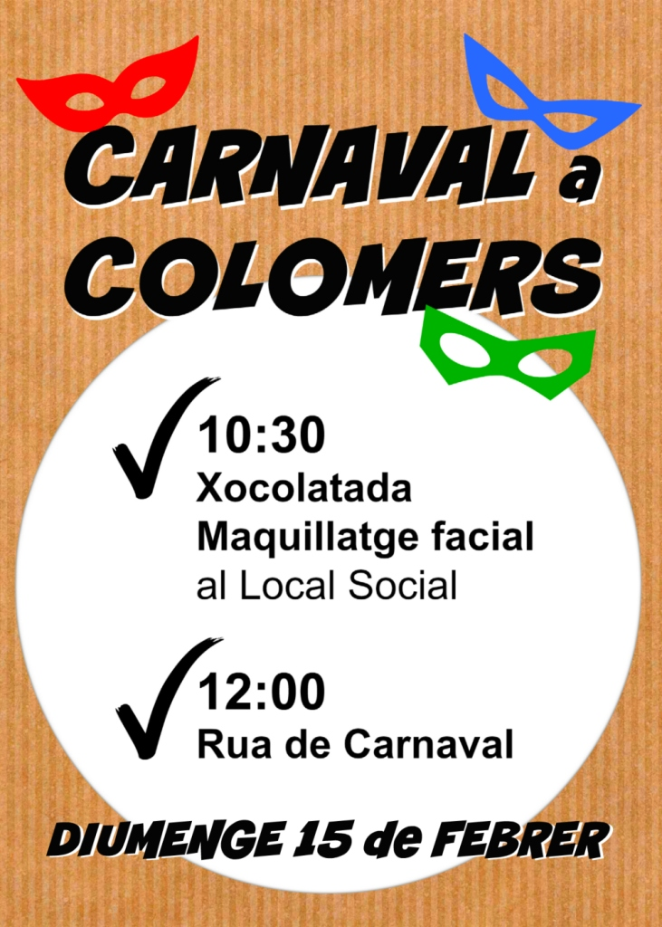 carnaval colomers 2015